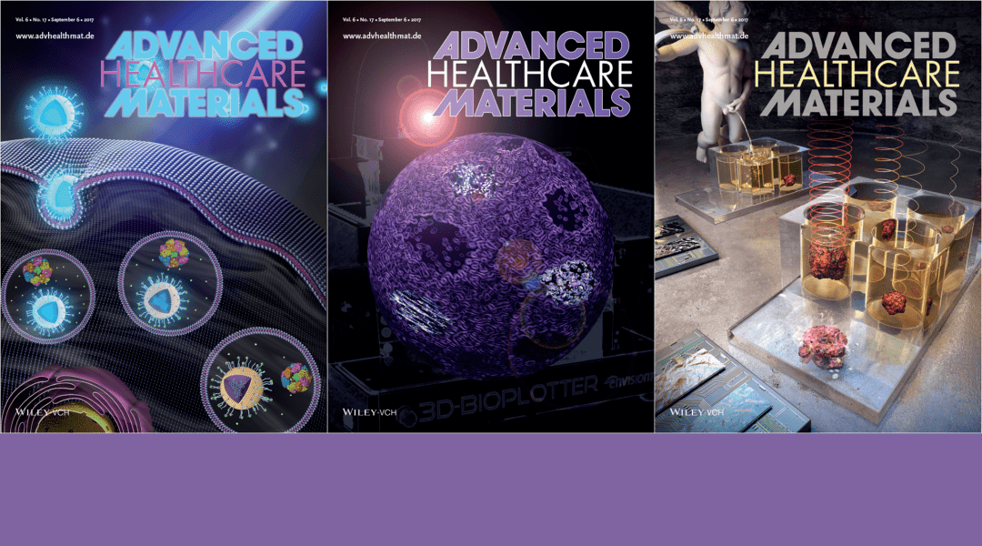 Cover Art – Featuring Stem Cell Constructs, Prostate Cancer Detection and Polymer Micelles
