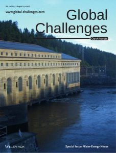 Global Challenges Water Energy Nexus Special issue