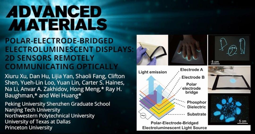 Flexible Electroluminescent Device for Modular Sensing Applications