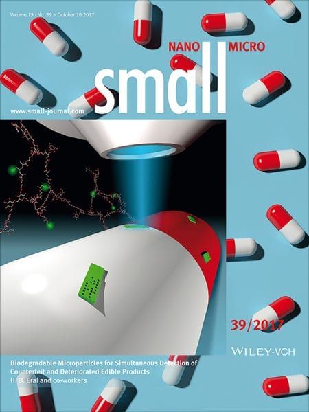 Hydrogel Microparticles Protecting against Counterfeit and