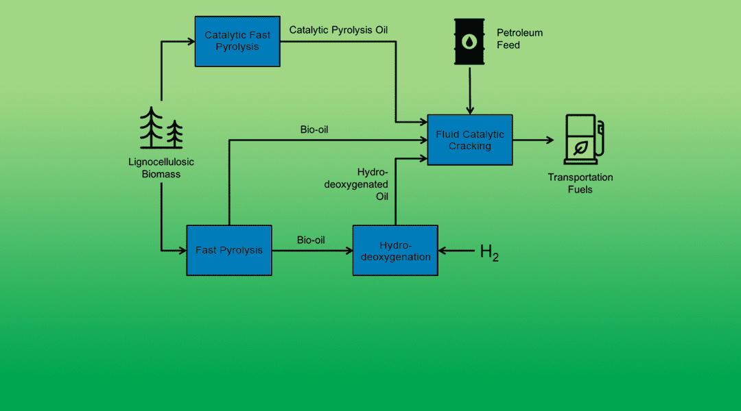 Co-Processing Bio-Oil Drop-In Biofuels by Fluid Catalytic Cracking