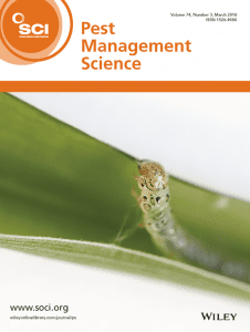 Pest Management Science Cover