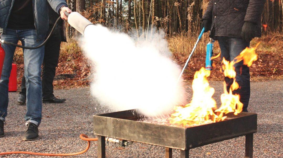 Fire Retardant Binary Network Aerogels
