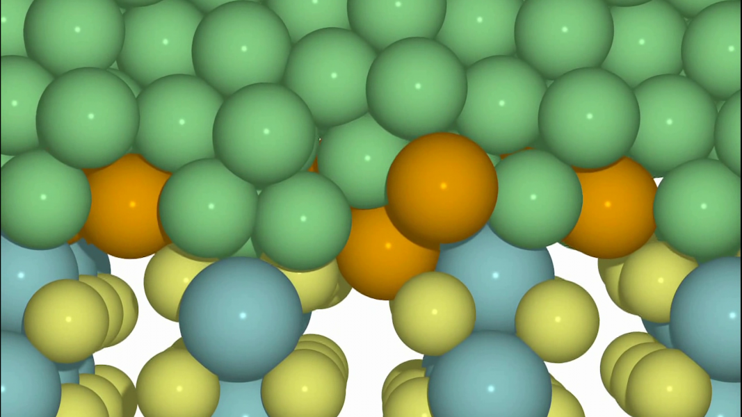 Gold Nanoglue Enables Metallic Contact in Molybdenum Disulfide-based Devices [Video]