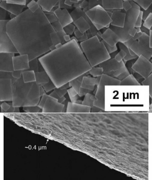 thin solid electrolyte