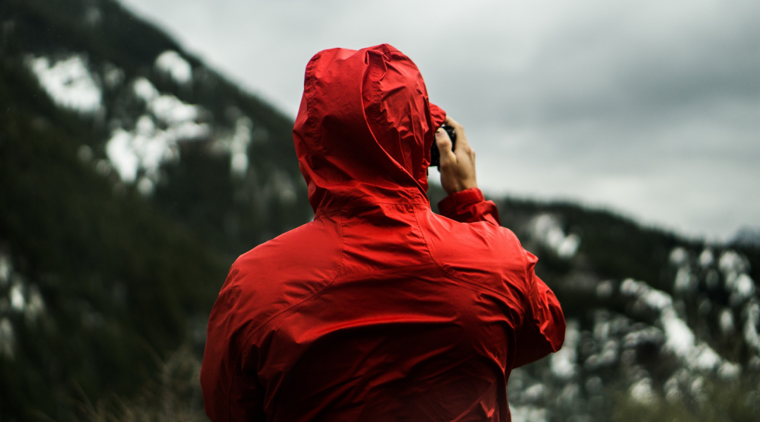 Energy-Harvesting Raincoats