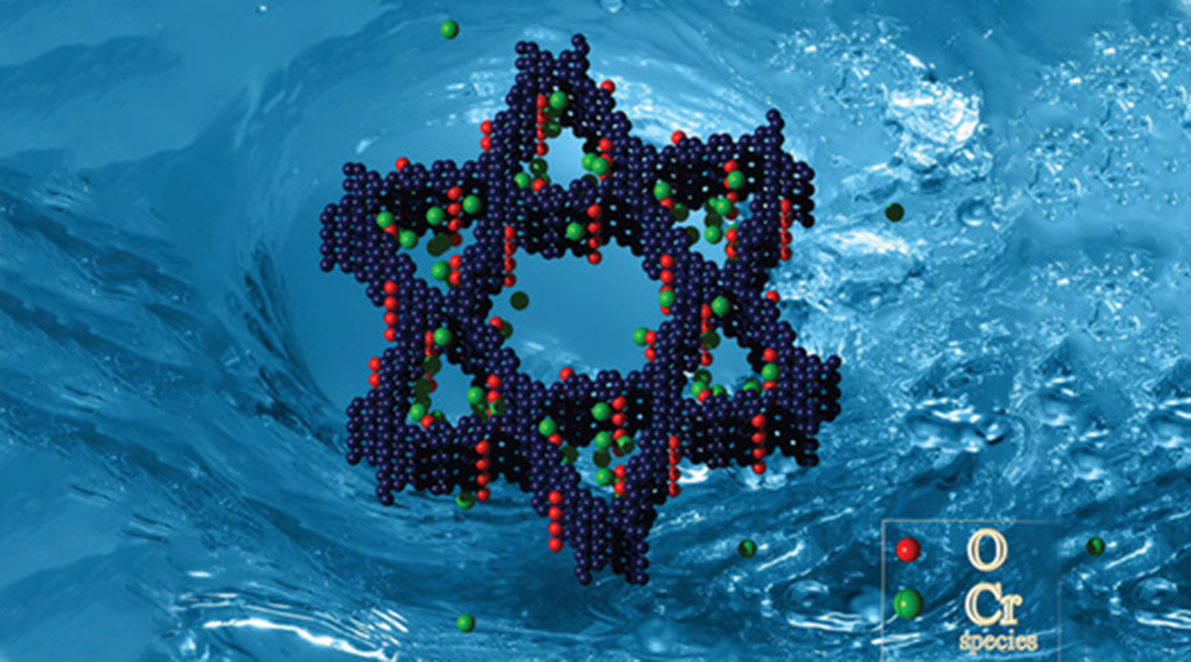 Star-Shaped Structures Rapidly Remove Chromium from Water