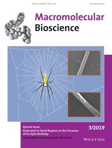 3f4ede828ec2 ... Omenetto has guest edited a special issue in Macromolecular Bioscience  in which Prof. Kaplan's colleagues and friends showcase work on silk and  beyond.
