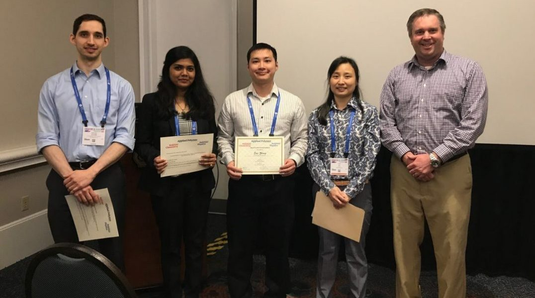 Journal of Polymer Science Book Prize Winners at the 2019 ACS Spring Meeting