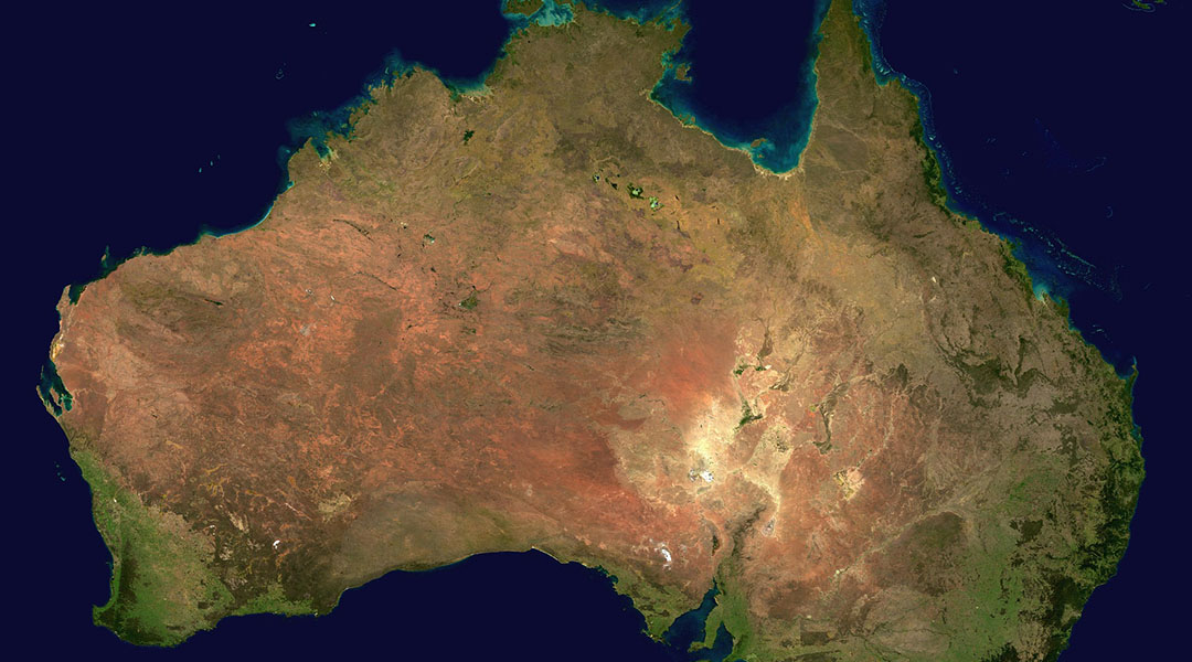 A Review of Past and Projected Changes in Australia's Rainfall