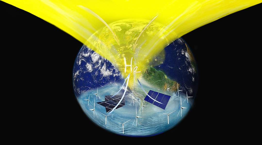 Electricity-Free Renewable Hydrogen – Make Our Planet Great Again