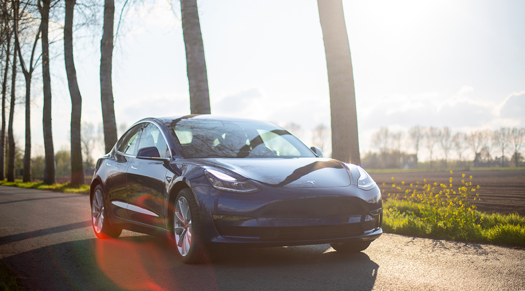Extending the Range of Electric Cars with Invisible Solar Panels