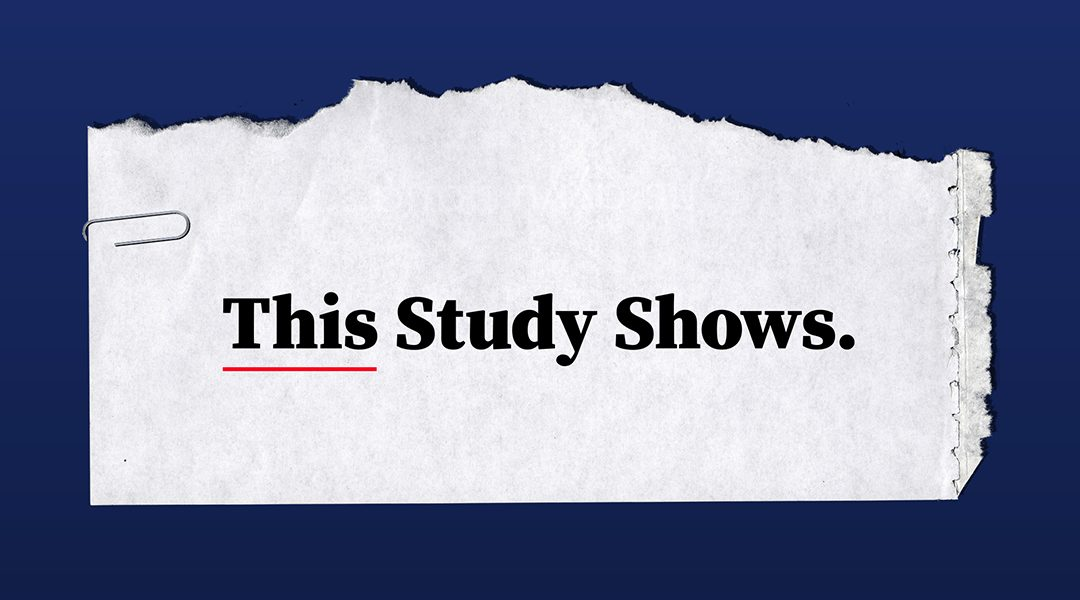 New Podcast: This Study Shows