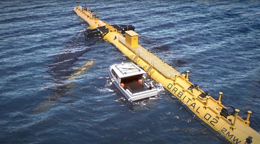 The World's Most Powerful Tidal Turbine