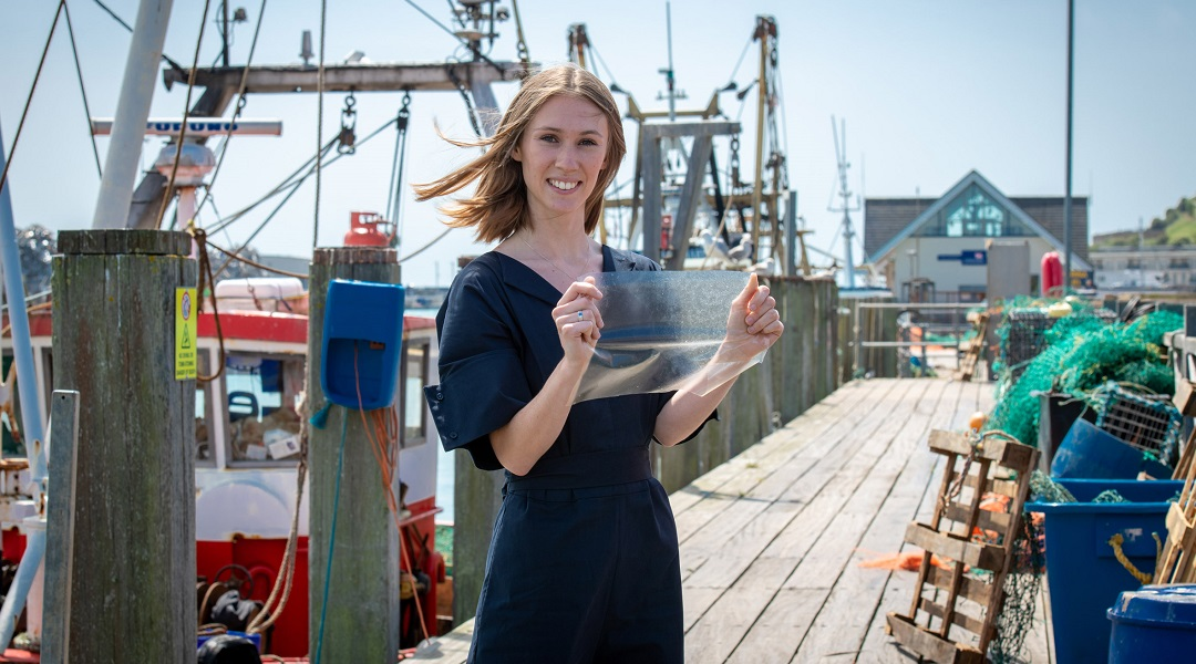 A Bioplastic Made From Fish Waste