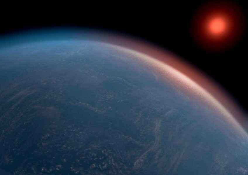 Super-Earth exoplanet K2-18b shows conditions conducive to life