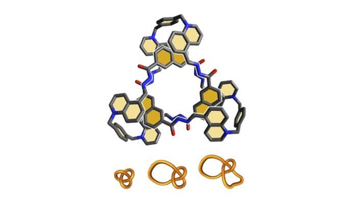 Tying up molecules as easily as you tie up your laces