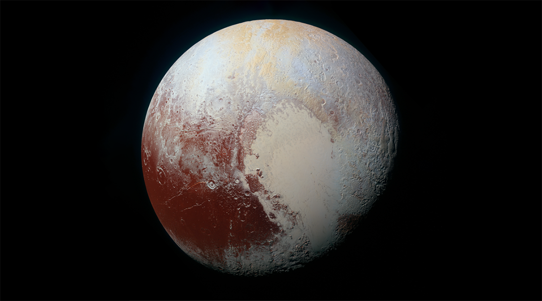 Pluto's beating heart drives icy winds