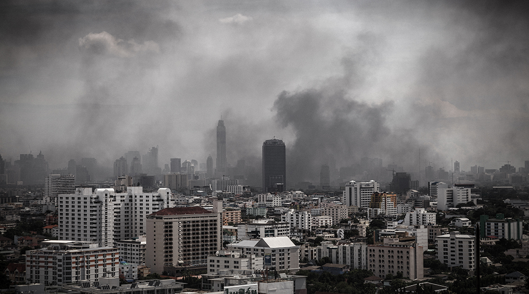 The world faces an air pollution pandemic