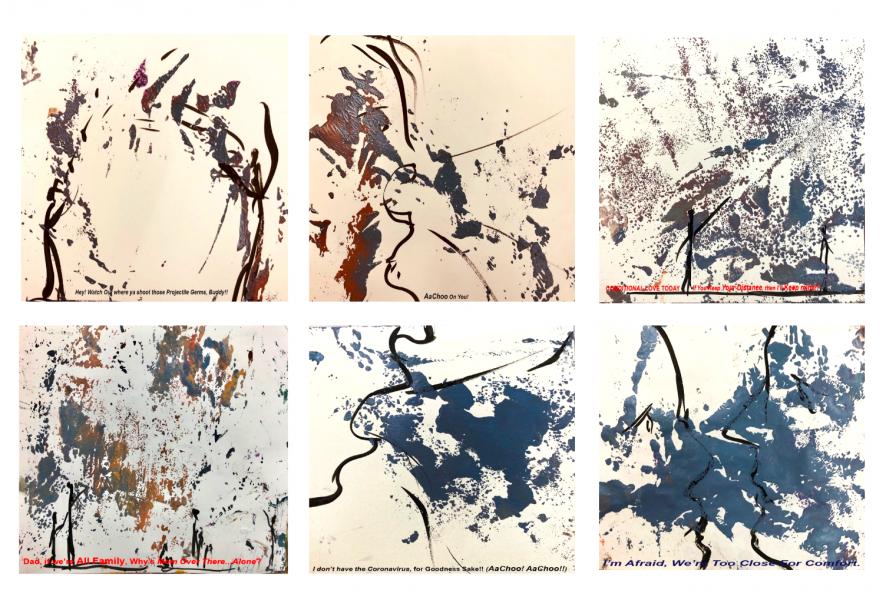 Seeking connection through art in a pandemic