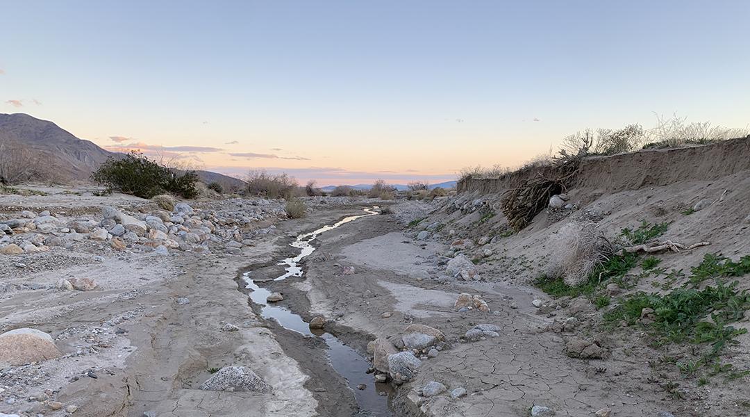 Is the river really dry? Scientific interpretations of zero flow readings