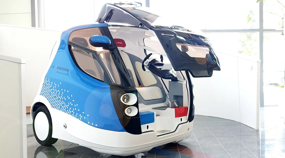 Compressed air cars for urban transportation