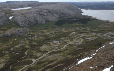 Understanding the impact of climate change on sub-arctic groundwater