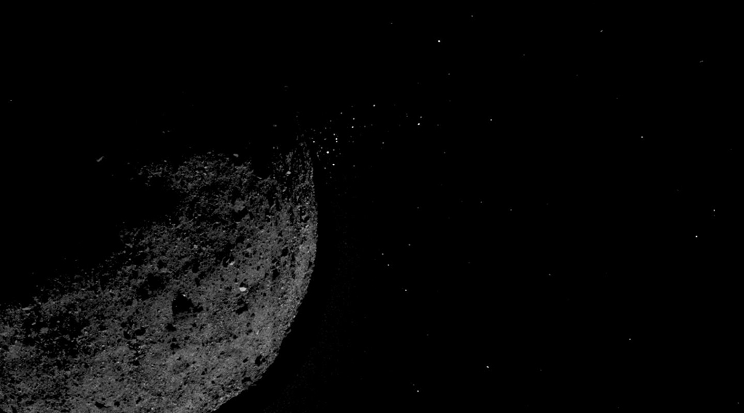 Where rocks come alive: OSIRIS-REx observes an asteroid in action