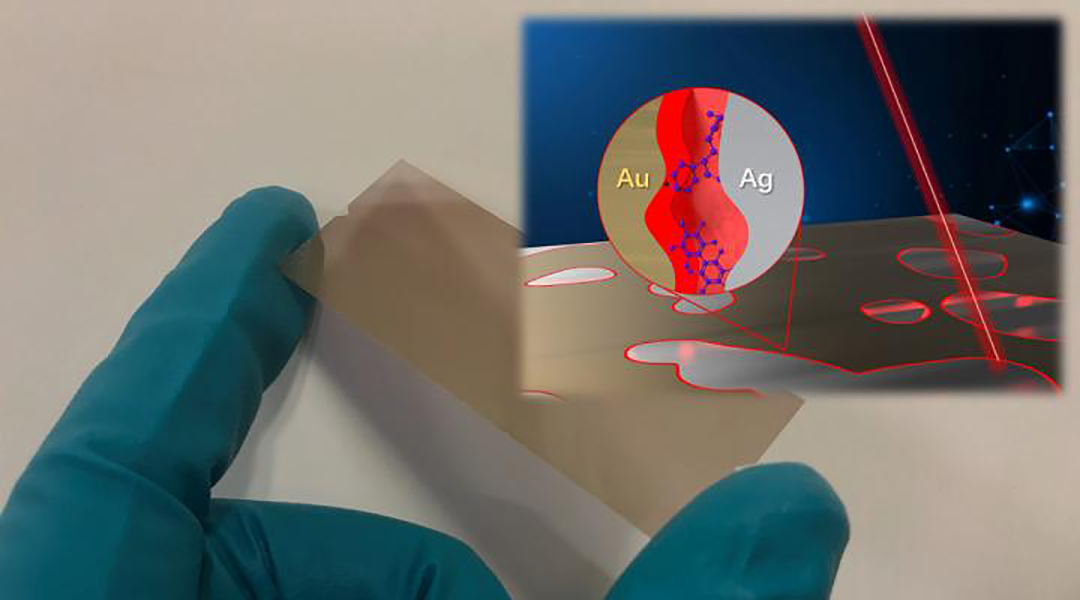 An affordable, quantum‐limit‐approaching sensing chip for trace chemical analysis