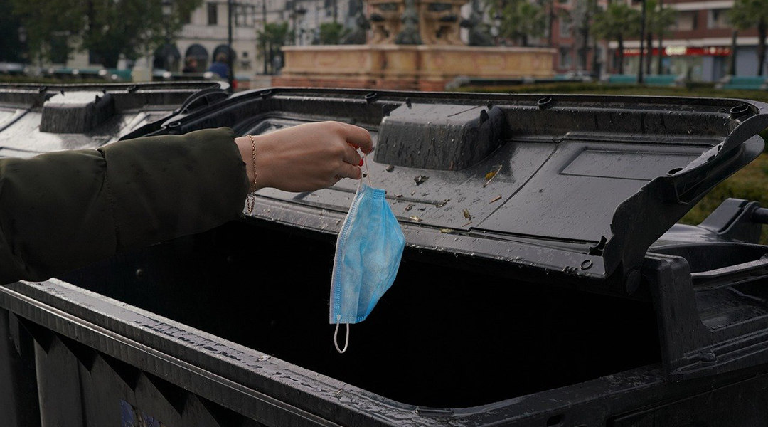 Biodegradable masks could help curb the rise in plastic waste