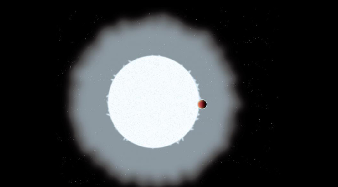 """Hydroxyl molecule signature detected in an """"ultra-hot Jupiter"""" exoplanet"""