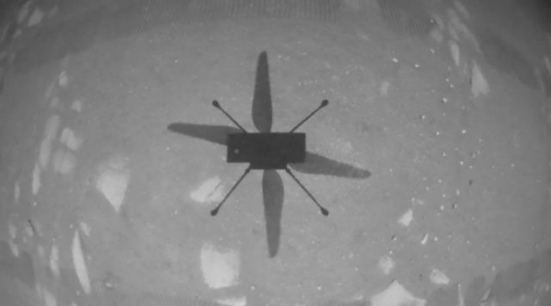 Ingenuity makes its first controlled flight on Mars